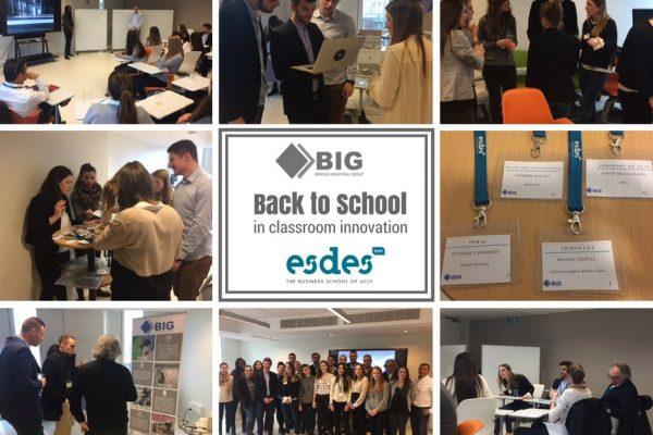 BIG ouvre ses portes à la pédagogie ! Un séminaire prototype au sein de l'ESDES Buisness School, Lyon