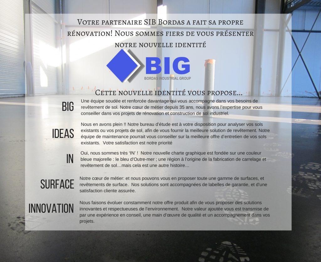 Votre partenaire SIB Bordas a fait sa propre rénovation et nous
